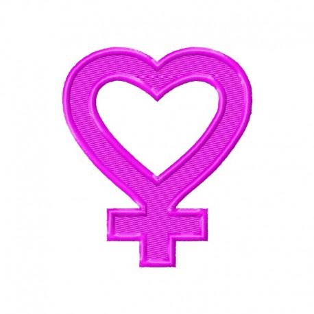 Frauenzeichen Herz