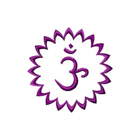 Stickdatei Chakra 7