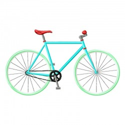 Stickdatei Fixie