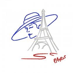 Stickdatei Parisienne