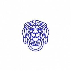 Loewenkopf mit Ring