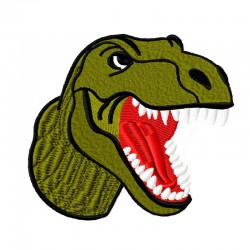 Dinosaurier T Rex Kopf gross