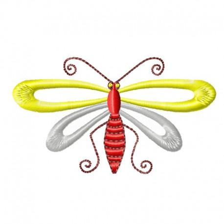 Stickdatei Libelle 1