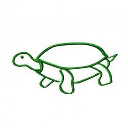 Stickdatei Schildkröte