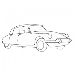 Stickdatei Citroen DS