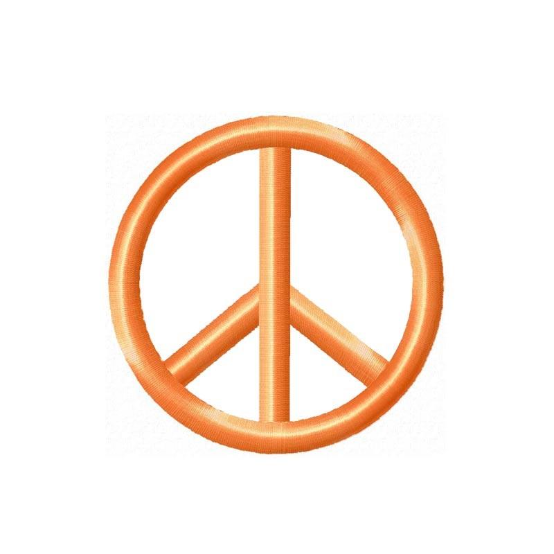 Stickdatei Peace Zeichen