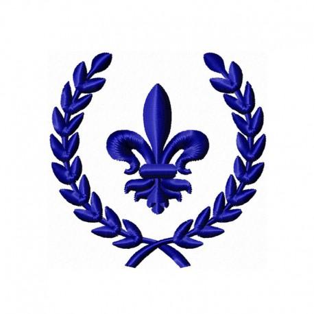 Stickdatei Wappen 3
