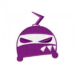 Böser Ninja Helm
