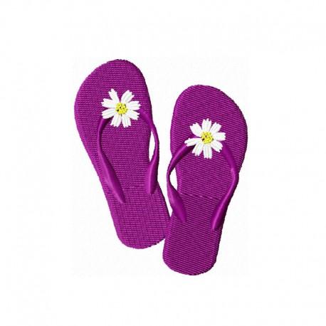Flip Flop mit Blume