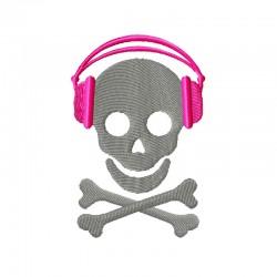 Kopfhörer Skull Totenkopf